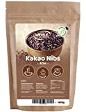 Kakao Nibs 400g - Premium Rohe Kakaonibs ▪ Wehle Sports Rohkostqualität (400g)