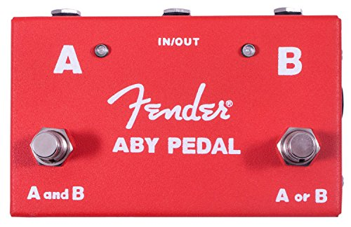 Fender ABY Pedal Switch Between Two Amps or Guitars 023-4506-000