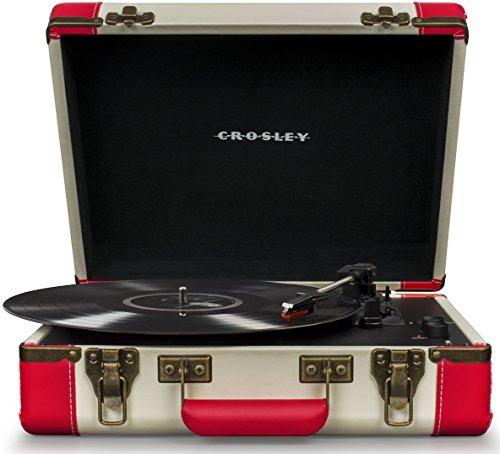 Crosley Executive Platine Vinyle Tourne-Disque sans Fil Bluetooth - Rouge