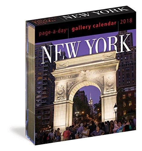 2018 New York Gallery Calendar