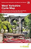 West Yorkshire Cycle Maps 29: Including the Trans Pennine Trail, Way of the Roses, Pennine Cycleway and 5 Individual Day Rides