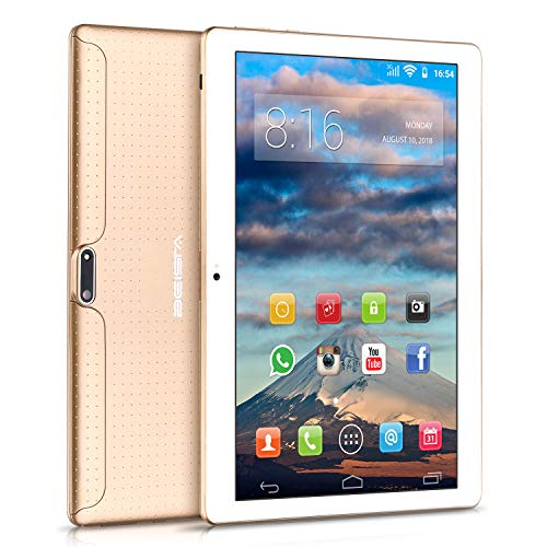 10 pollici Tablet BEISTA Android 7.0- (Processore Quad Core,Capacità 32GB, RAM 2 GB,3G Dual Sim...