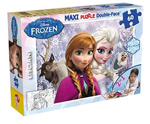 Lisciani 46881 - Puzzle Df Supermaxi 60 Frozen Tit 2