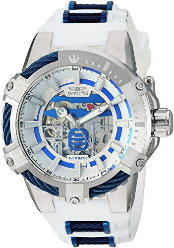 Invicta 26225 Star Wars - R2-D2 Herren Uhr Edelstahl Automatik weißen Zifferblat