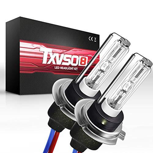 Lampadina H7 LED,12V 55W Fari Abbaglianti e Anabbaglianti, Kit Sostituzione per Alogena Xenon...