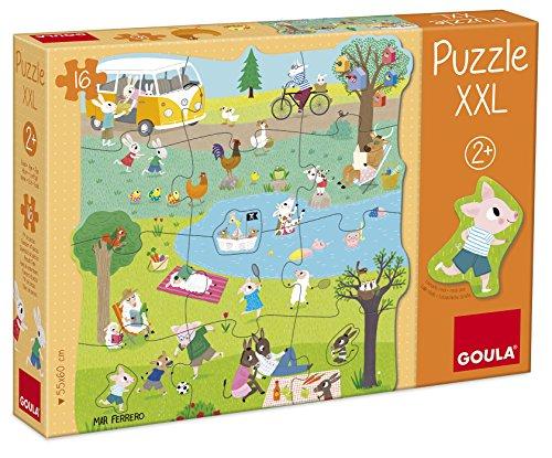 Diset 53427 - Puzzle XXL Un Giorno in Campagna