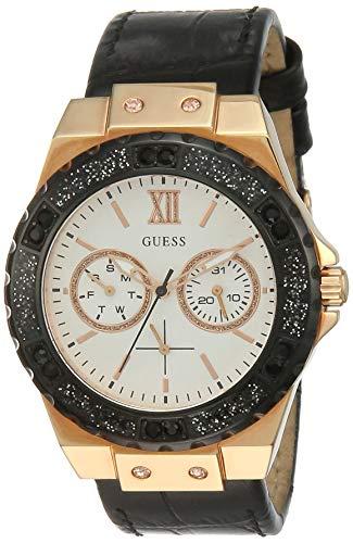 Guess Orologio Cronografo Quarzo Donna con Cinturino in Pelle W0775L9