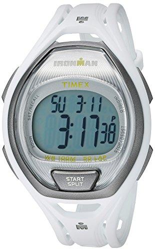 Timex Unisex TW5K96200 Ironman Sleek 50 White Full-Size Resin Strap Watch