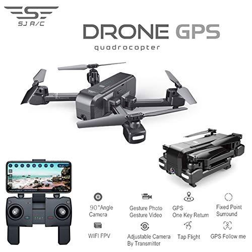 Zantec Regalo per Ragazzi Quadrocopter SJRC Z5 con Fotocamera HD 1080P Drone 5G WiFi FPV Altitude...