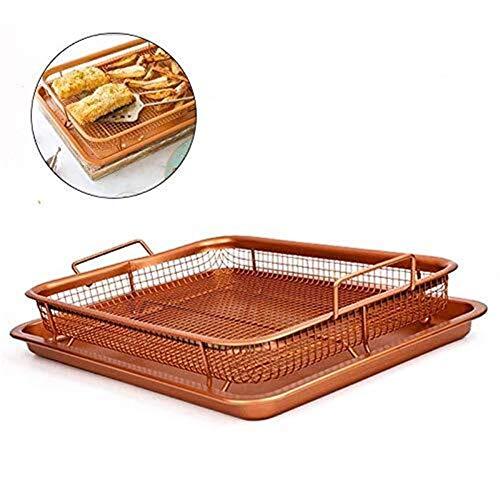 Forniture per la Cottura Vassoio Crisper in rame, friggitrice ad aria Friggitrice con forno...