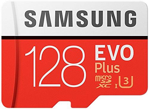 Samsung-MB-MC128GAEU-Carte-mmoire-MicroSD-Evo-Plus-128G-avec-adaptateur-SD