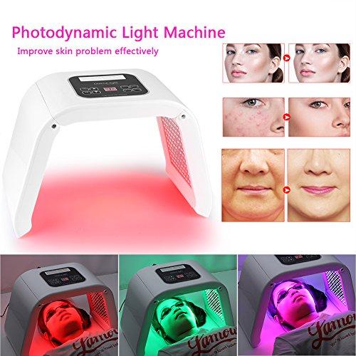 Yotown Traitement Photon Light Therapy 10 couleurs PDT LED lumière beauté photodynamique peau rajeunissement machine (EU)(EU) 10