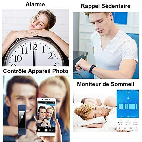 Montre Connectée, Willful Bracelet Connectée Fitness Tracker d'Activité Cardiofréquencemètre Etanche IP67 Smartwatch Cardio Podomètre Sport ... 11