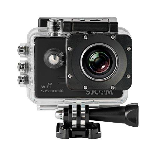 SJCam SJ5000X Elite (versión española) - Videocámara deportiva (WiFi integrado, 4K, pantalla de 2'' LCD, WiFi, sumergible 30 m) color negro