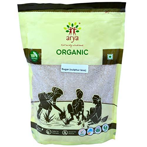 Arya Farm Sulphur Less Organic Sugar, 1kg