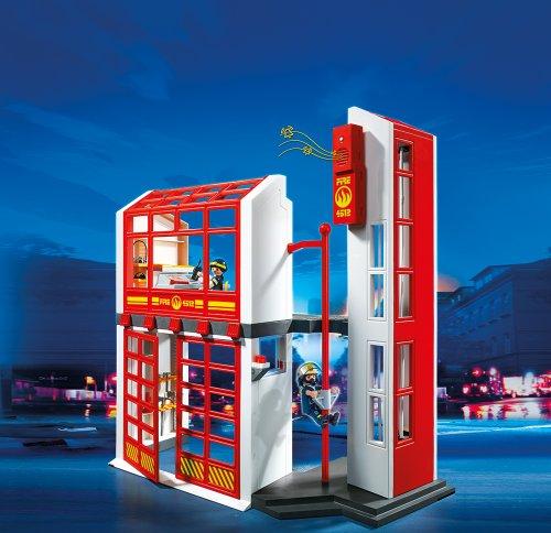 PLAYMOBIL 5361 – Feuerwehrstation mit Alarm - 2