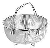 BRA Cestillo multiusos de acero inoxidable para una cocina al vapor.