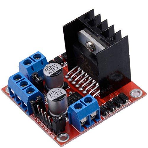 Specifica: Chip: l298 N Logic voltage: 5 V Logic corrente 0 ma-36ma Temperatura di stoccaggio: -20 & # x2103; a & # x2103; a + 135 Modalità di funzionamento: il driver h-bridge (Dual) Drive voltage: 5 V-35 V Corrente di azionamento: 2...