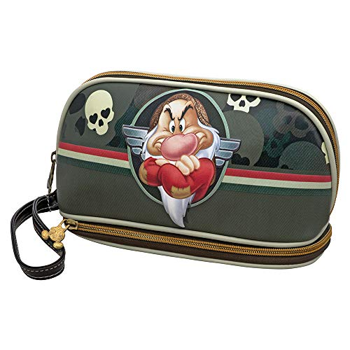 Karactermania Sette Nani Skull Beauty Case, 24 cm, Green