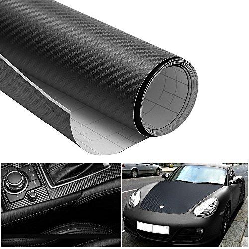 autocollant de voiture ikalula 3d film de vinyle fibre de carbone automatique voiture diy. Black Bedroom Furniture Sets. Home Design Ideas
