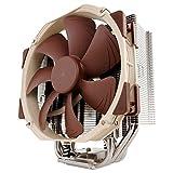 Noctua NH-U14S, ultra silencieux et haut de gamme Radiateur pour CPU avec Ventilateur NF-A15 PWM (140 mm) Marron, Acier inoxydable, Beige