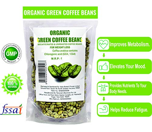 100% Organic Green Coffee Beans Decaffinated & Unroasted Coffee Beans for weight loss 4