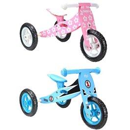 boppi® 2 in 1 Triciclo in Legno – Bici Senza Pedali