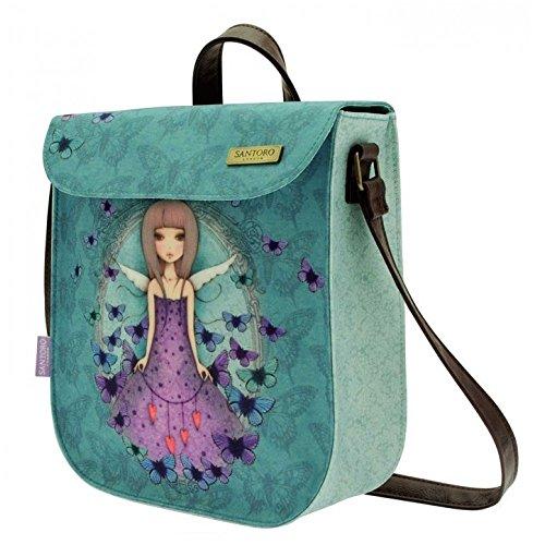 Santoros Mirabelle pequeña mochila - mariposa