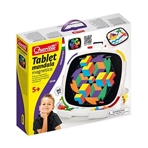 Quercetti 5348 Tablet Magnetico Mandala Magnetici