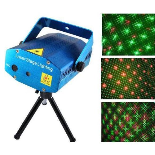 CITRA Mini Laser Projector Stage Lighting Sound Activated Laser Light for Party and DJ