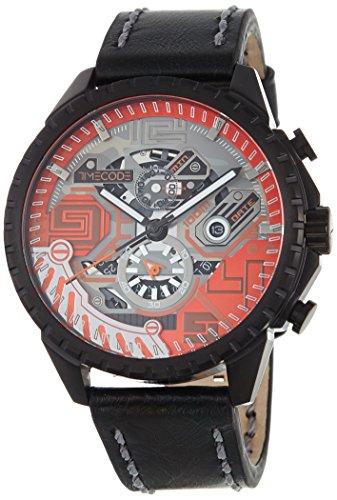 Timecode Quantum für Männer -Armbanduhr Chronograph Quartz TC-1013-04
