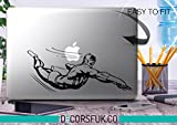 Daredevil Marvel MacBook sticker – Adesivi per MacBook – Vinile nero Captain America