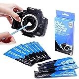 Swab de Limpieza de Sensor de cámara Tipo 2 (VSOG DDR15) para Sensor APSC (CCD/CMOS): el Paquete Incluye 10 hisopos de Limpieza de 16 mm