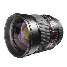 Walimex 85 mm f:1.4 IF - Objetivo para Sony/Minolta (Diámetro: 72 mm), negro