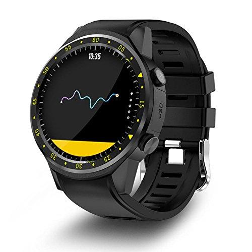 Huang Dog-shop Orologio Uomo Sportivo Smart Watch,1.3 Pollici Touch Screen HD IPS Bluetooth 4.0...