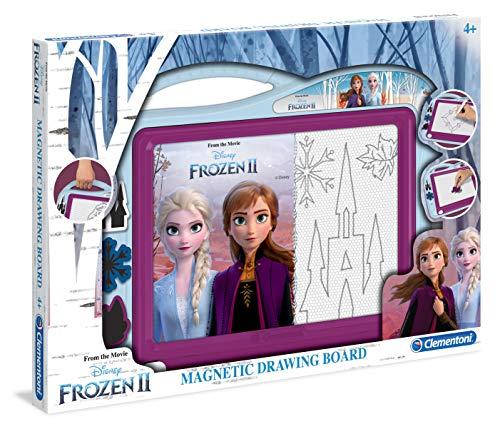 Clementoni- Lavagna Magnetica-Disney Frozen 2, Multicolore, 15290
