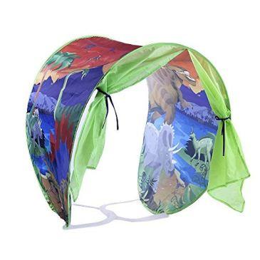 Simplefirst Tente étoile Pliable pour Enfants Pop Up Tente de lit Fairy Playhouse Tente de rêve de Dinosaure Meilleure Tente de décoration pour Enfants et bébés