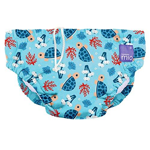 Bambino Mio Costumino contenitivo Unisex Bambini, Multicolore (baia della tartarughe), 2+ anni (12-15 kg)