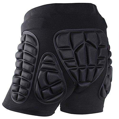Soared 3D Impact Pantaloncini Protezione Imbottiti Hip Pantaloni Corti per Equitazione Sci...