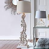 LOBERON Stehlampe Talisha braun