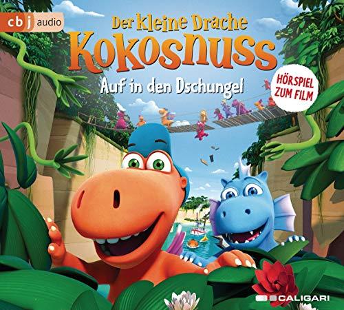 Der kleine Drache Kokosnuss – Auf in den Dschungel!: Hörspiel zum Kinofilm (Audio-CDs zu den Filmen, Band 3)