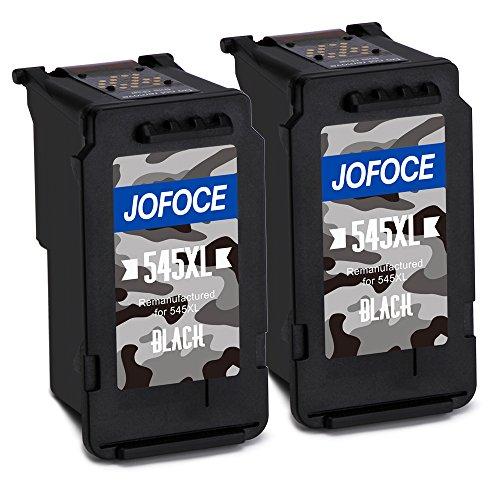 Jofoce Remanufactured Canon PG-545XL 545 Cartucce d'inchiostro (2 Nero), Compatibile con Canon Pixma...