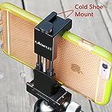 Metal teléfono para trípode con adaptador de zapata de soporte para smartphone mount-ulanzi dispositivo de vídeo para trípode