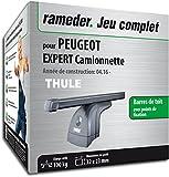 Rameder Pack Barres de Toit SquareBar pour Peugeot Expert Camionnette...