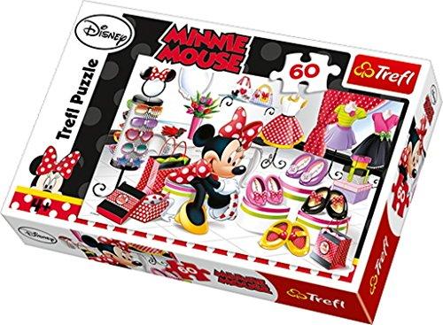 Disney Trefl Puzzle Minnie Mouse Shopping (Pezzi, Multicolore)