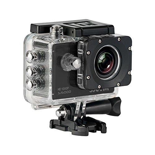 SJCam SJ5000 (versión española)- Videocámara deportiva (LCD 1.5'', 1080p 30 fps, sumergible hasta 30 m)