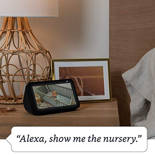 Introducing Echo Show 5 - Compact smart display with Alexa, White 7  Introducing Echo Show 5 – Compact smart display with Alexa, White 51pOtUCLAnL