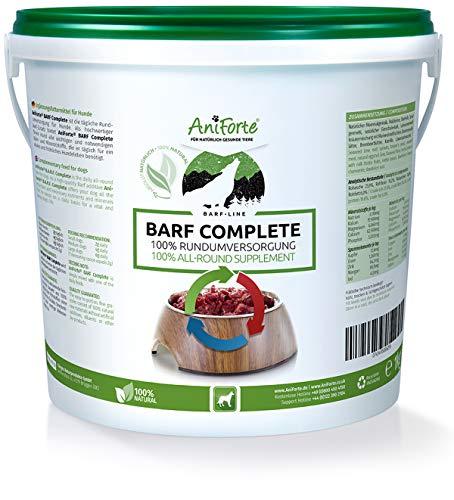 B.A.R.F. Complete | Suplemento Alimenticio 100% Natural | Específicamente Desarrollado para Dietas B.A.R.F. | Para Perros | Aniforte