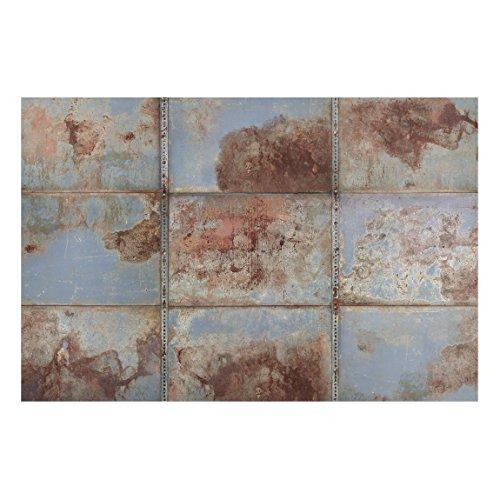 Lavagna magnetica Bilderwelten–stile shabby industriale in metallo–paesaggio formato 2:...