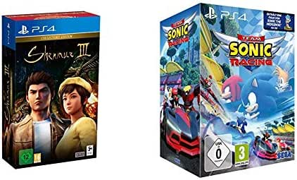 Shenmue III Collector's Edition (PS4) & Team Sonic Racing: Special Edition (PS4)